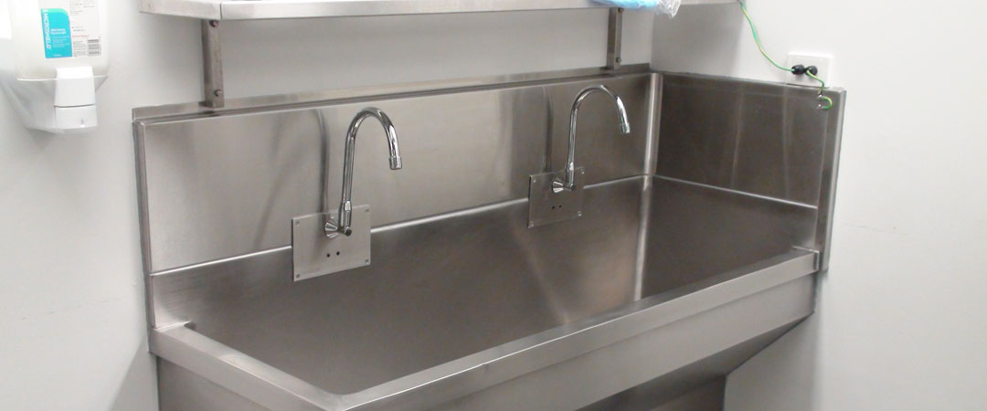 Hospital Sinks and Sluices